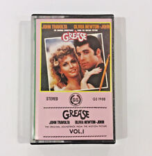 """Grease Vol. 1"" Soundtrack Cassette RARE Singapore issue (GS 1988)"