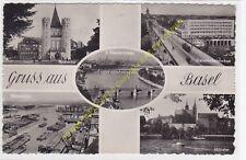 CP SUISSE multivues BALE GRUSS AUS BASEL 1950