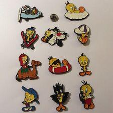 Pin's Folies * Lot de 11 enamel pins badges Looney tunes bird Tweety Titi