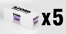 Pellicola medio formato Rullino BN bianco e nero Ilford Delta 3200 120 5pz.