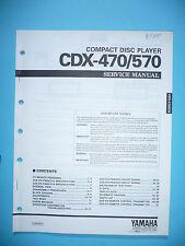 Service Manual für Yamaha CDX-470/CDX-570  ,ORIGINAL