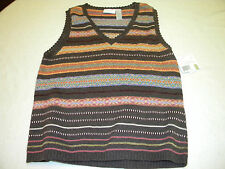 Nwt Womens Liz Claiborne Lizwear Jeans sleeveless sweater Size L