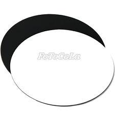Circular Black white Photo Acrylic reflection display board kits diameter 30cm