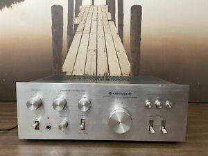 Kenwood KA-3500 Stereo Integrated Amplifier works great