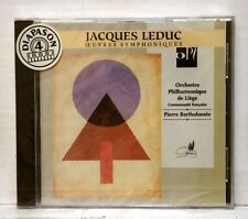 PIERRE BARTHOLOMEE - JACQUES LEDUC symphonic works CYPRES CD STILL SEALED