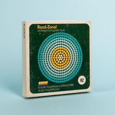 More details for vintage racal zonal professional magnetic tape rz - 1/4