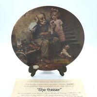 "Sammelteller USA Bradex Edwin Knowles by Norman Rockwell ""The Cobbler """