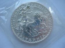 1999 silver 1 ounce Britannia £2 Two Pound coin B UNC mint sealed