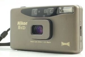 [ Exc+5/Gray ] Nikon AF600 QD Panorama 35mm Point & Shoot Film Camera From JAPAN