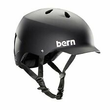 New Bern Watts MIPS Men Adult Bicycle Helmet w Visor MATTE BLACK 2/3XL 60.5-63.5