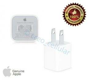 iPhone USB Power Wall Cube Apple Original Charger Adapter Plug A1385 AUTHENTIC