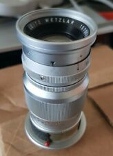 Leica Leitz Elmar 90mm f4 M Mount Lens Great condition for cameras like M3 M8 M9
