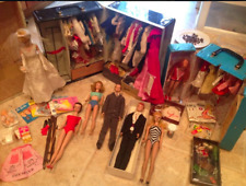 Huge Vintage Barbie 1961-1962 collection, untouched since 60s, complete outfits