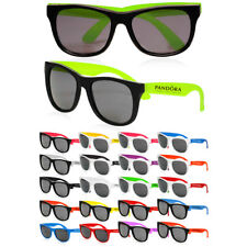 50 Personalized Two Tone Plastic Sunglasses Printed W/ Your Logo,Name or Message