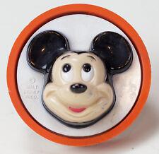 Vintage Original 1970's Mickey Mouse Walt Disney Round Non Working Vtg Ge