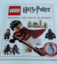Harry Potter Lego Building The Magical World USED Hardcover 2011 NO MINI FIGURE