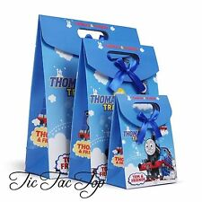 🚊6x THOMAS THE TRAIN PARTY CARDBOARD LOOT LOLLY GIFT BAGS Favour