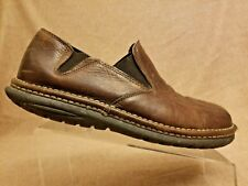 R. J. Colt Men'Brown Leather Loafers Bicycle Toe Slip On Casual Shoes Size 13 M