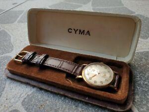 1960 Cyma Cymaflex Gold Wristwatch