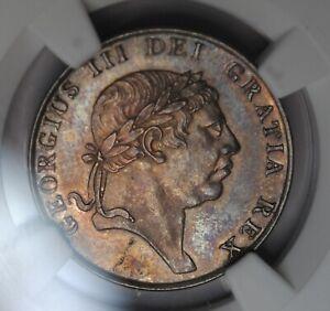 1813   Ireland 10 Silver Pence NGC AU58