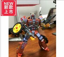 New KFC EAVI METAL PHASE 6 Dumpyard Metal Color Limited Version Transformers Toy