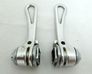 Vintage Simplex Braze-On Friction Gear Shifters - Complete