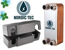 "Echangeur de chaleur a plaque Acier INOX chauffage 90-210kW NORDIC TEC 3/4"""