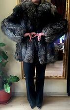 Silver   Fox Fur Jacket/Coat