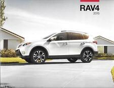 2015 15 Toyota  Rav4  oiginal sales brochure