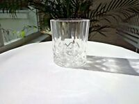 Royal Crystal Rock Opera Pattern Double Old Fashioned Glass