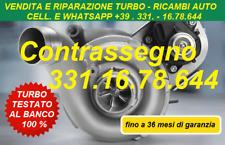 TURBINA REVISIONATA AUDI A3 GOLF PASSAT TDI 170CV