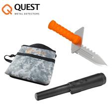 Sparset Quest Xpointer Grabungsmesser Fundtasche