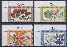 Berlin 607/10 ** Wohlfahrt 1979, Blätter Blüten und Früchte postfrisch