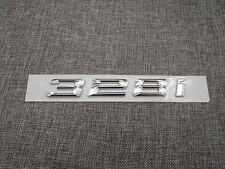 Chrome Trunk Number Letters Emblem Emblems Badge Badges Sticker for BMW 328i