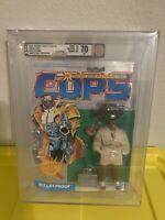 AFA 70 70/70/90 Prototype 1988 Hasbro Cops N Crooks Bullet Proof Rare PreRelease
