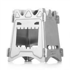 New listing Wood Burning Camping Stove Stainless Steel Foldable Portable Patio For Bbq Cook