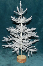 "NEW WHITE 16"" FAUX GERMAN FEATHER TREE! CHRISTMAS! TABLETOP LIMITED QUANTITIES"