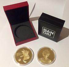 carte dragon ball Gold card métalique limited  Médaille 30 TH anniversary prism