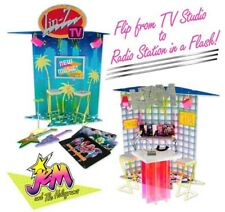 JEM AND THE HOLGRAMS STUDIO PLAYSET 2018 Integrity TV & RADIO STATION 14095_NRFB