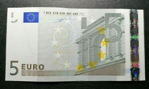 EUROPEAN UNION GREECE 5 EURO 2002 PREFIX Y