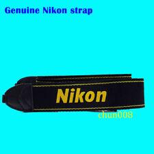 New Genuine Original Nikon  Black Yellow AN-DC3 Neck Shoulder strap