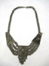 STERLING SILVER ANTIQUE MIDDLE EASTERN NECKLACE