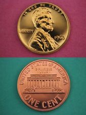 1963-P Proof Lincoln Memorial Cent Penny Flat Rate Shipping