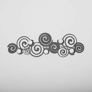 Appendiabiti attaccapanni salvaspazio in ferro Orfeo design Arti e Mestieri