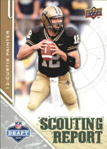 2009 Upper Deck Draft Edition FB 201-Inserts A6222 - You Pick - 10+ FREE SHIP
