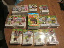 ANIMAL CROSSING FESTIVAL AMIIBO ALMOST COMPLETE 15 OF 16 LOT TIMMY TOMMY ++