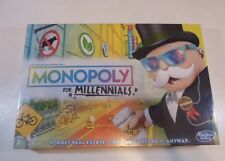Monopoly for Millennials Edition Board Game Ages 8+