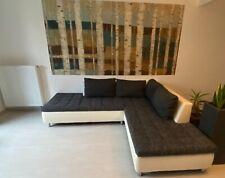 wohnlandschaft milano, eckcouch, sofa, dunkelgrau, robuster Bezug, couch