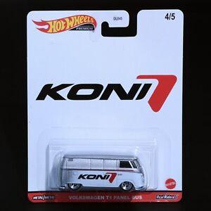Hot Wheels - Koni - Volkswagen T1 Panel Bus - Premium - Brand New