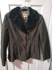 """DOLCE & GABBANA J&ANS COAT JACKET WOMAN""""S SIZE S MADE IN ITALY"""